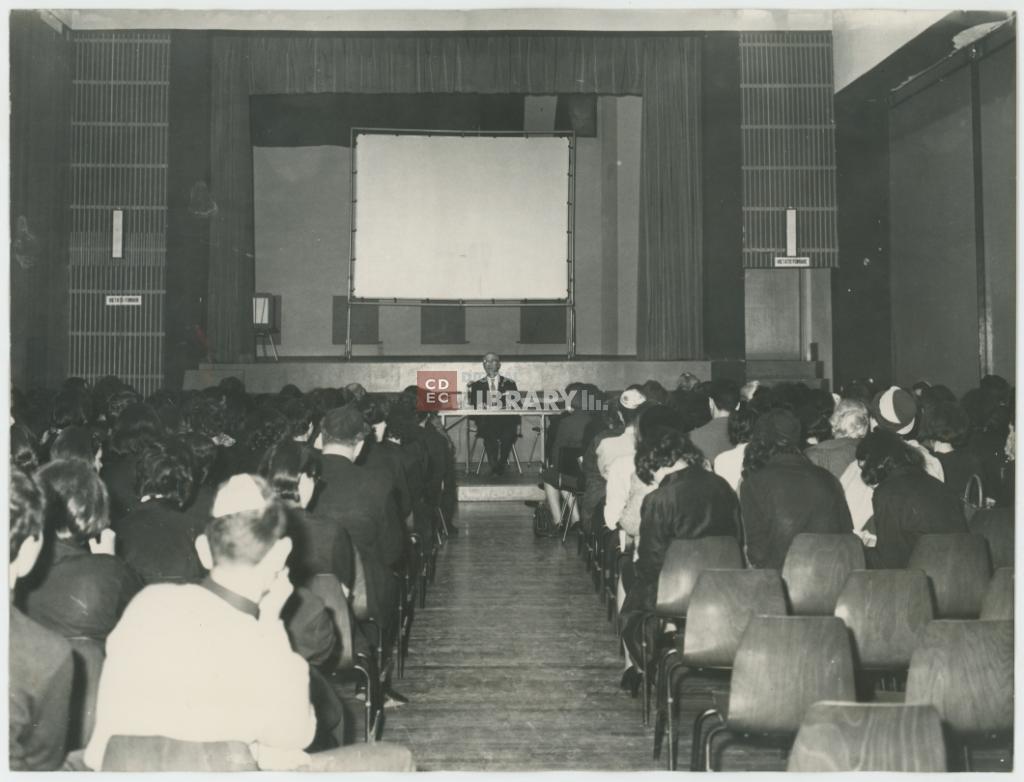 Milano, scuola ebraica di via Sally Mayer. Conferenza nell ...